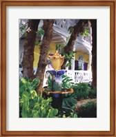Framed Conch Fountain