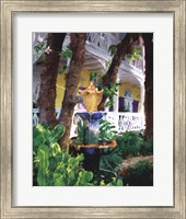 Framed Conch Fountain