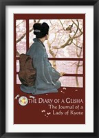 Framed Diary of a Geisha