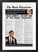 Framed Bush Chronicles