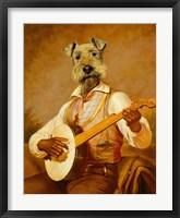 Framed Troubadour