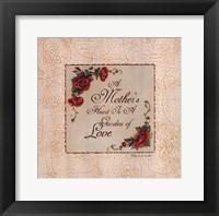 Framed Mother's Heart