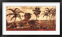 Framed Palm Garden