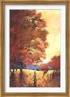 Framed Autumn Mystique