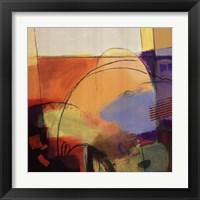 Framed Abstract Dance I
