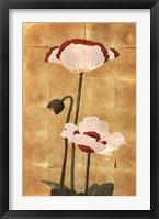 Framed Golden Poppy I