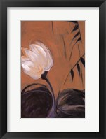Framed White Blossom III