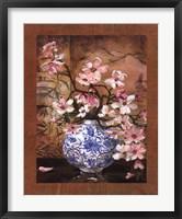 Framed Ming Vase I