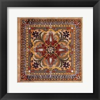 Framed Italian Tile II