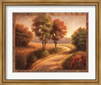 Framed Afternoon Path