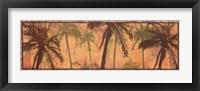 Framed Transparent Palms I