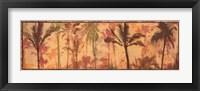 Framed Transparent Palms II