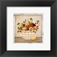 Framed Fruit Bowl III