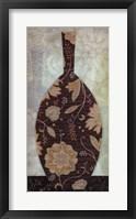 Framed Paisley Vase II
