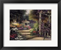 Framed Emerald Garden