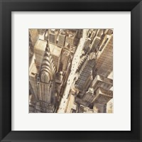 Framed Aerial View of Chrysler Building