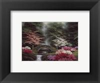 Framed Whispering Brook