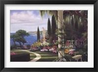 Framed Seaside Villa