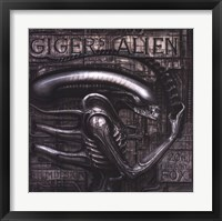 Framed Giger's Alien