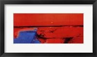 Coastal Horizon II Framed Print