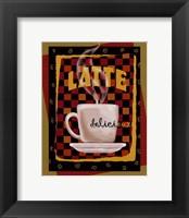 Latte Delicieux Framed Print