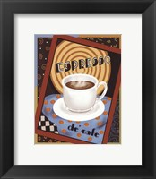 Espresso De Cafe Framed Print