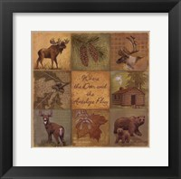 Framed Deer Antelope