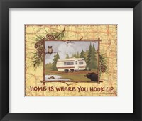 Framed Home is Where You Hook Up