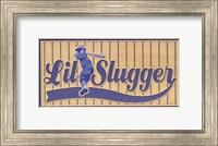 Framed Lil Slugger