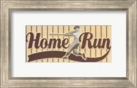 Framed Home Run