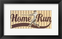 Framed Home Run