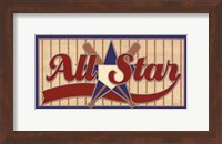Framed All Star