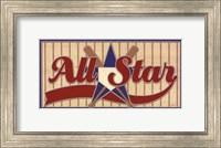 Framed All Star