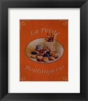 Framed La Petite Boulangerie