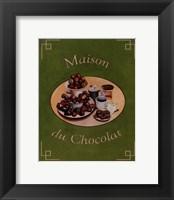 Framed Maison Du Chocolat