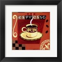 Framed Italian Espresso
