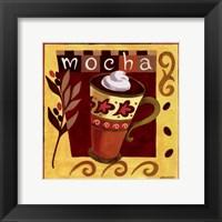 Italian Mocha Framed Print