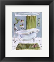 Bath IV Framed Print