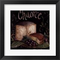 Framed Bon Appetit Chaorce
