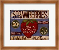 Framed Fruit Stand III