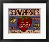 Fruit Stand III Framed Print