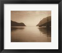 Serenity Inlet Framed Print