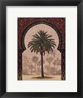 Moorish Palms II Framed Print