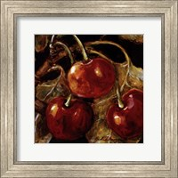 Framed Sweet Cherries I