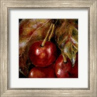 Framed Sweet Cherries II