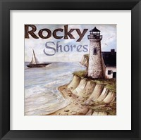 Framed Rocky Shores