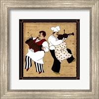 Framed Musical Chefs I