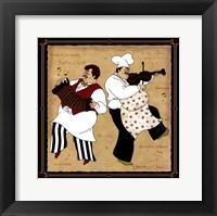 Musical Chefs I Framed Print