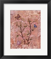 Butterflies And Blossoms II Framed Print