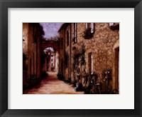 Framed Tuscan Light
